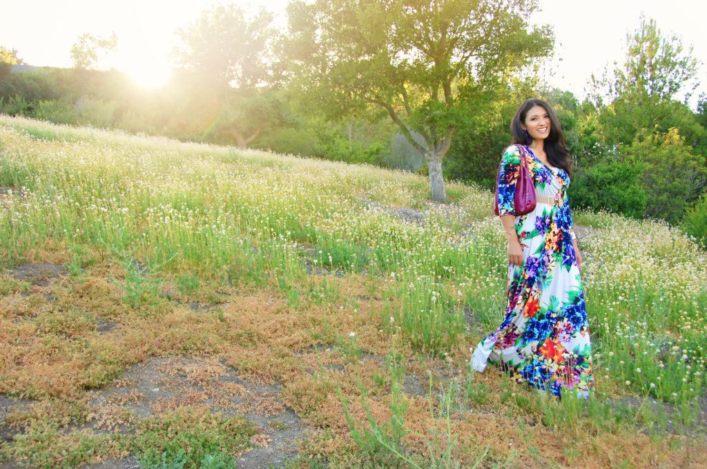 Floral Maxi Dress | Niguel Botanical Preserve
