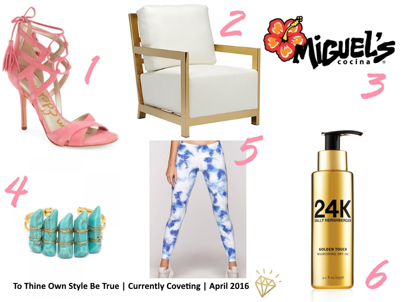 Currently Coveting for April 2016