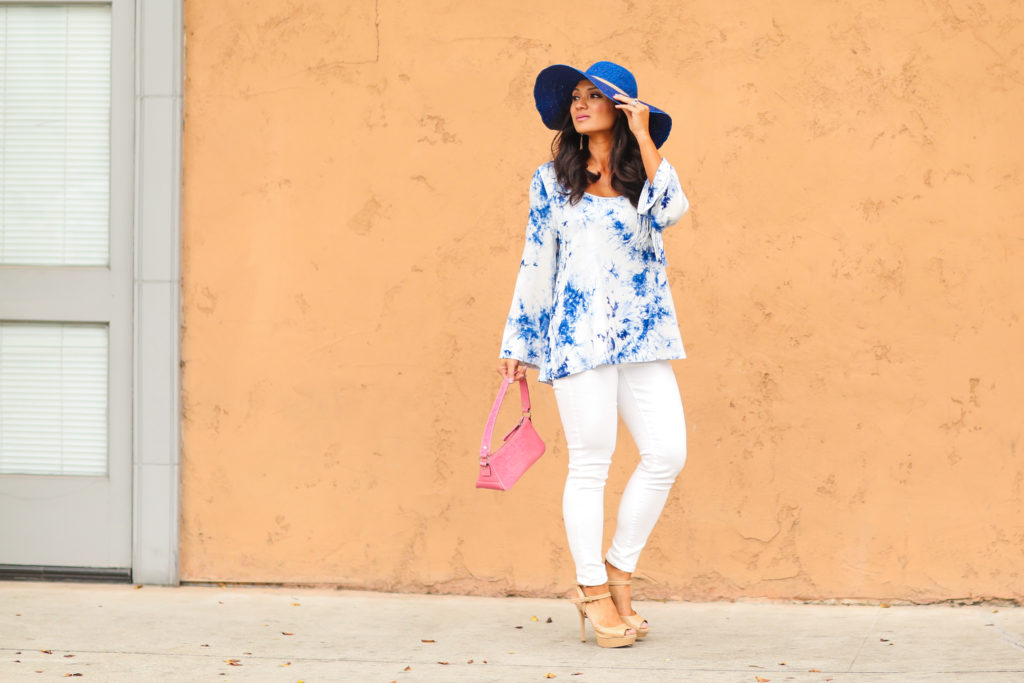 A Shade of Pink, White & Blue | Hats Off To You!