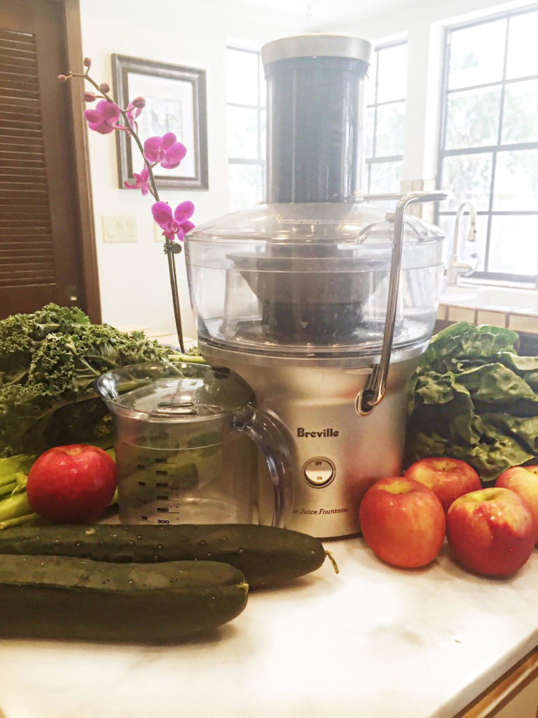 I have had a few juicers in my lifetime. My favorite Breville Compact Fountain Juicer, get it here.