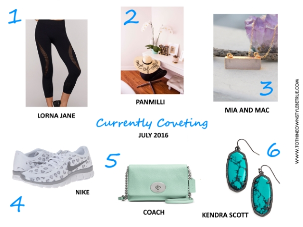 Currently Coveting | July 2016