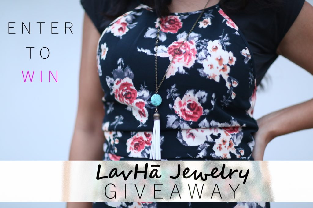 LavHa Essential Oil Jewelry + Evision Tassel Necklace Giveaway