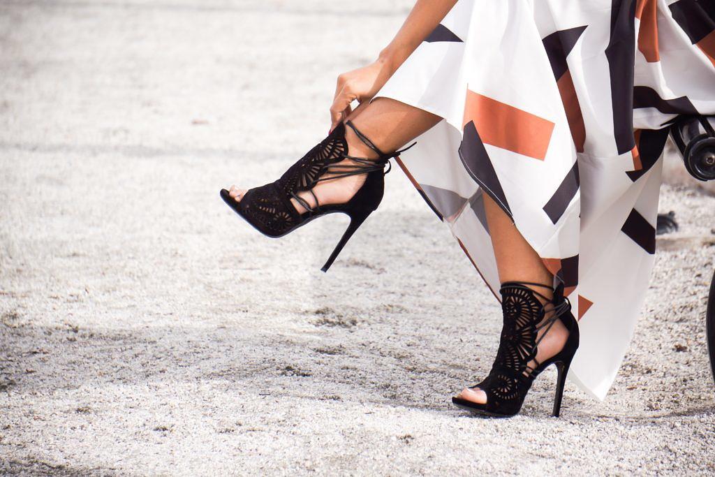 GuiltySoles FRIBEL Cutout Heel Shoes