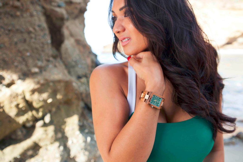 Featuring Jord Wood Watches at Three Arch Bay Beach in Laguna Beach, California