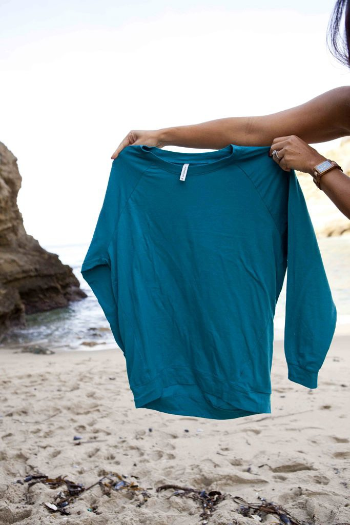 Debbie Savage of To Thine Own Style Be True Loves The Mint Julep Boutique's Slouchy Dolman Tunics