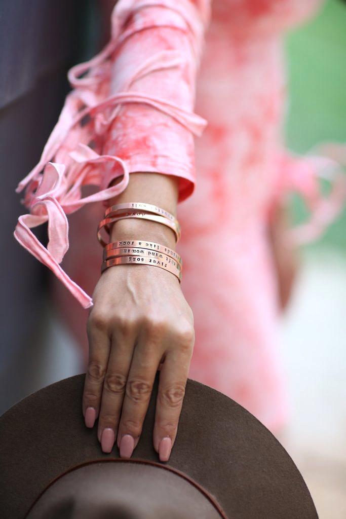 UnCensorYourself Mature Stackable Custom Bracelets