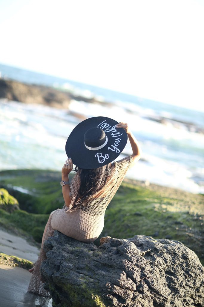 Beach Ready with PanMilli Custom-Made Summer Floppy Hat