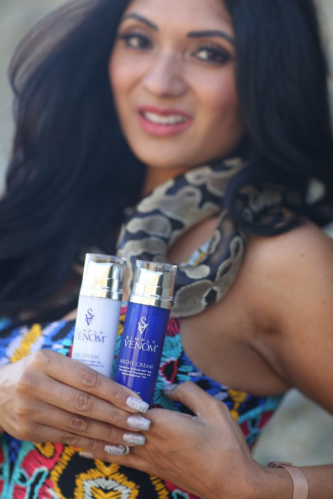 Debbie Savage of To Thine Own Style Be True's Review on Simply Venom Skin Care