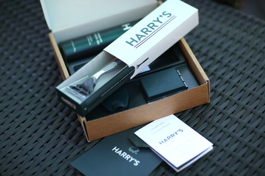 Give the Gift of a Good Shave with Harry's Shave Set