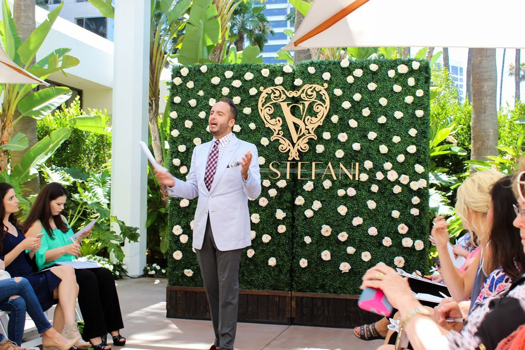Debbie Savage Attends Val Stefani's Fashion Preview at Island Hotel in Newport Beach, CA