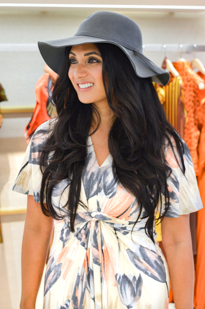 Through The Tulips Maxi Dress From The Mint Julep Boutique Featured on To Thine Own Style Be True