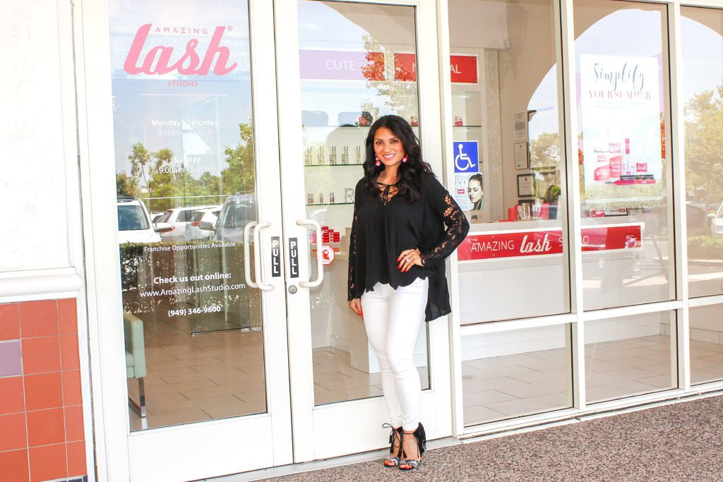 Eyelash Extensions Review with Amazing Lash Studio - Rancho Santa Margarita, CA by To Thine Own Style Be True