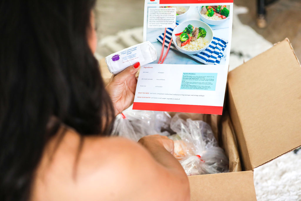 Healthy Home Delivery Meal Kit with One Potato | Lifestyle Blog | To Thine Own Style Be True