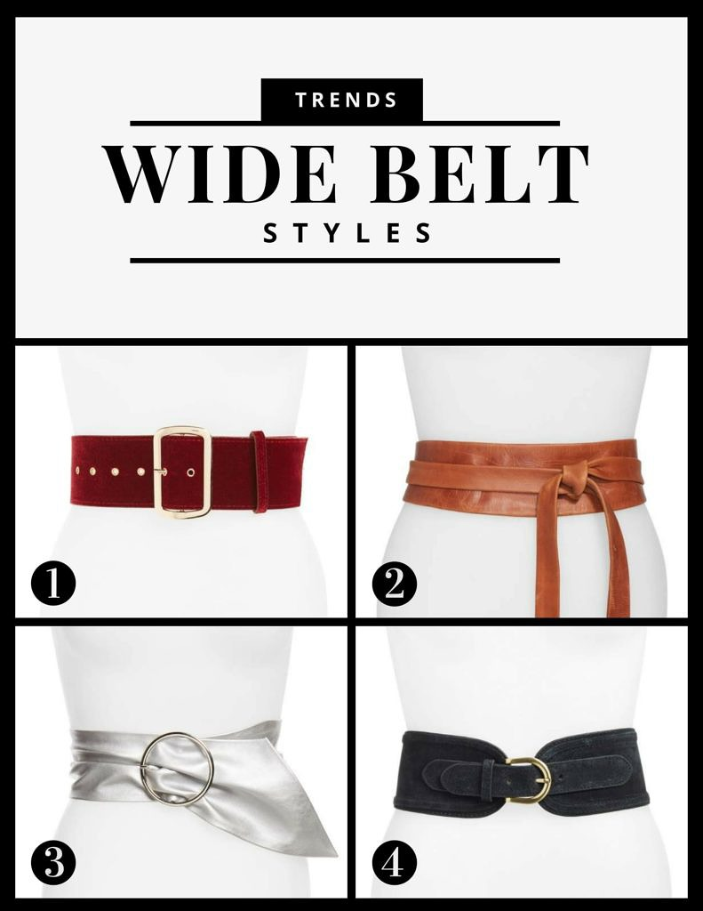 Petite and Curvy Fashion and Style Blog   Trends Wide Belt Styles