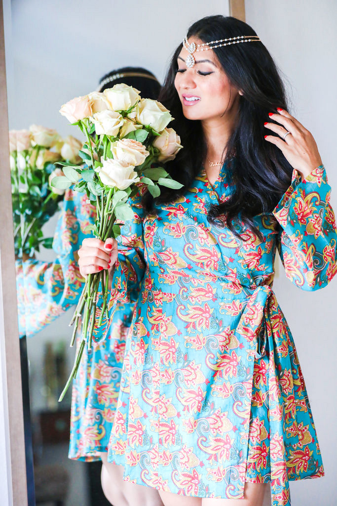 To Thine Own Style Be True, Fashion and Lifestyle Blog featuring PajamaSutra Loungewear   Girly Moments Call for a Bridal Dressing Gown - Girly Moments Call for a Bridal Dressing Gown by popular Orange County fashion blogger To Thine Own Style Be True