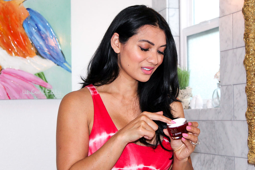 5 Steps To Beautiful Skin With Olay Whips by popular lifestyle blogger To Thine Own Style Be True
