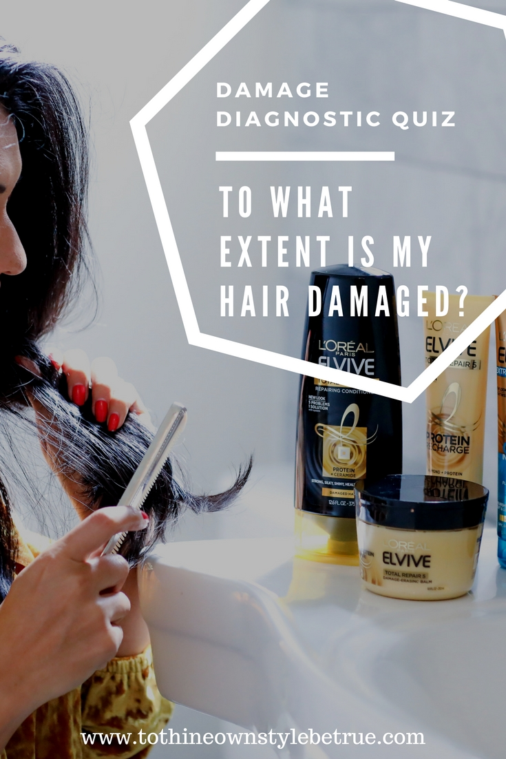 Hair Quiz: How Damaged Is My Hair? by popular Orange County lifestyle blogger To Thine Own Style Be True