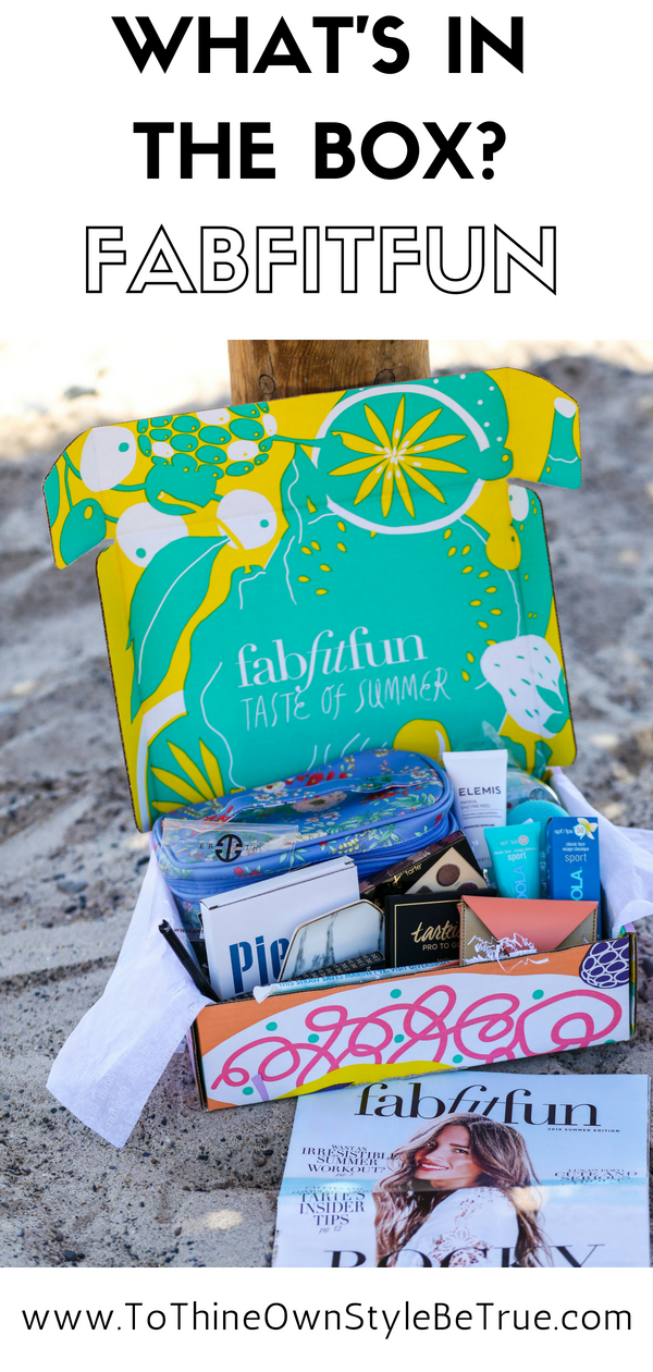 Bookmark this post ASAP! Orange County Blogger Debbie Savage is breaking down exactly what is in the FabFitFun Summer 2018 box and why you need it ASAP!