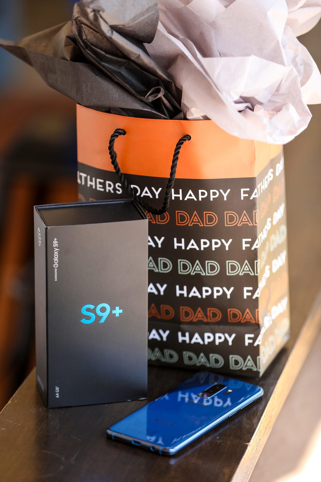 Gifting Occasions: Father's Day or New Grads - Get the Samsung Galaxy S9+ Phone