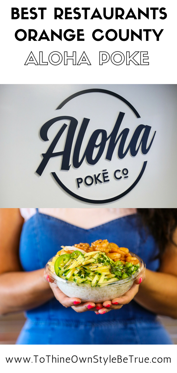 "I am always up for trying something new! When Aloha Poke of Costa Mesa, CA reached out to me for a collaboration, it was an easy YES! Note, poke is pronounced ""POH-keh,"" and it has received a lot of buzz around social media and been spotted on a lot of menus. This Hawaiian term ""poke"" means to slice or cut and this is referring to the delicious chunks of raw fish (typically tuna) found in your bowl."