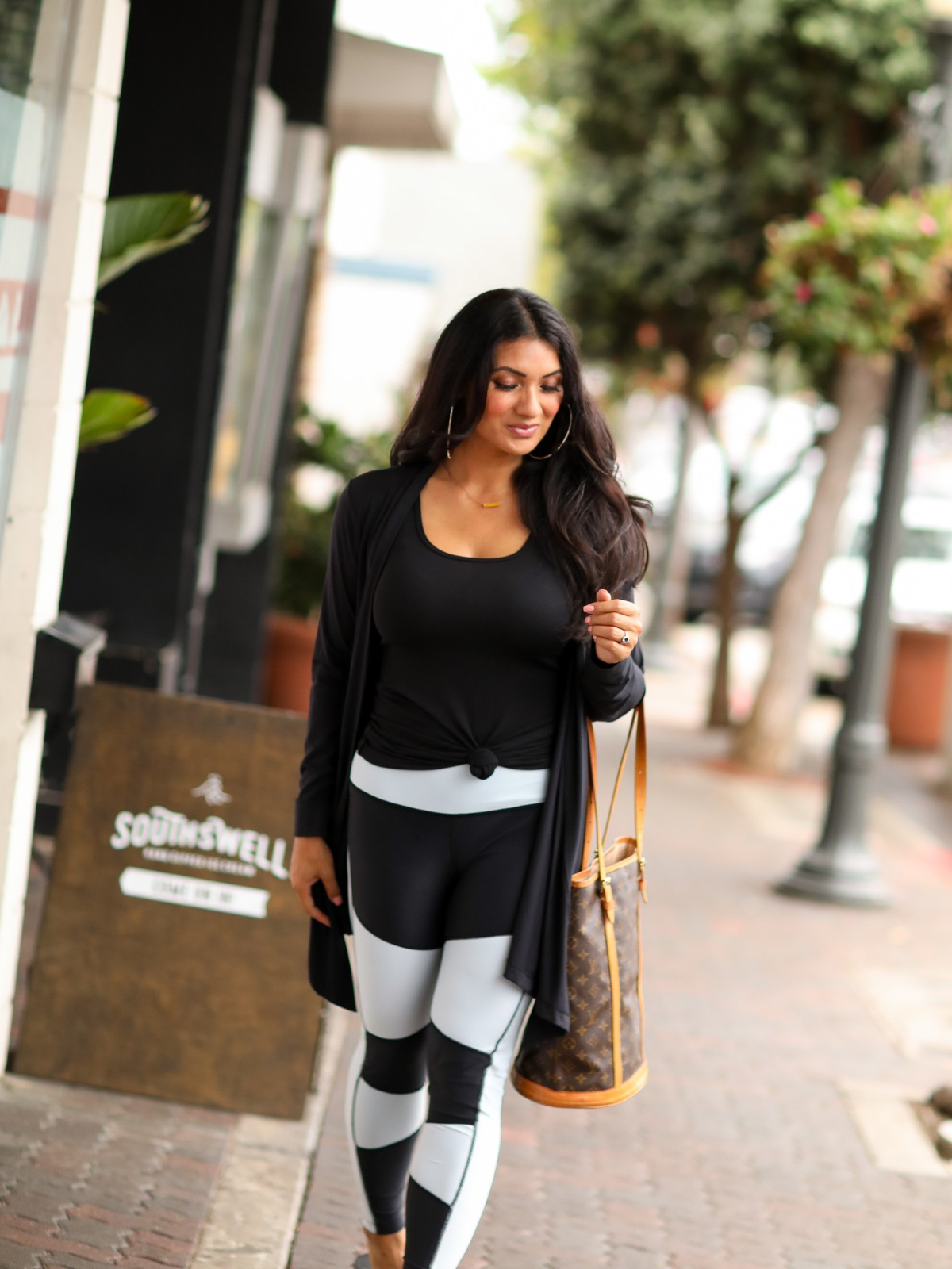 Is Athleisure Wear Just A Trend? | Peach, Clothes for the gym, work, and play | Debbie Savage Orange County Fashion Blogger