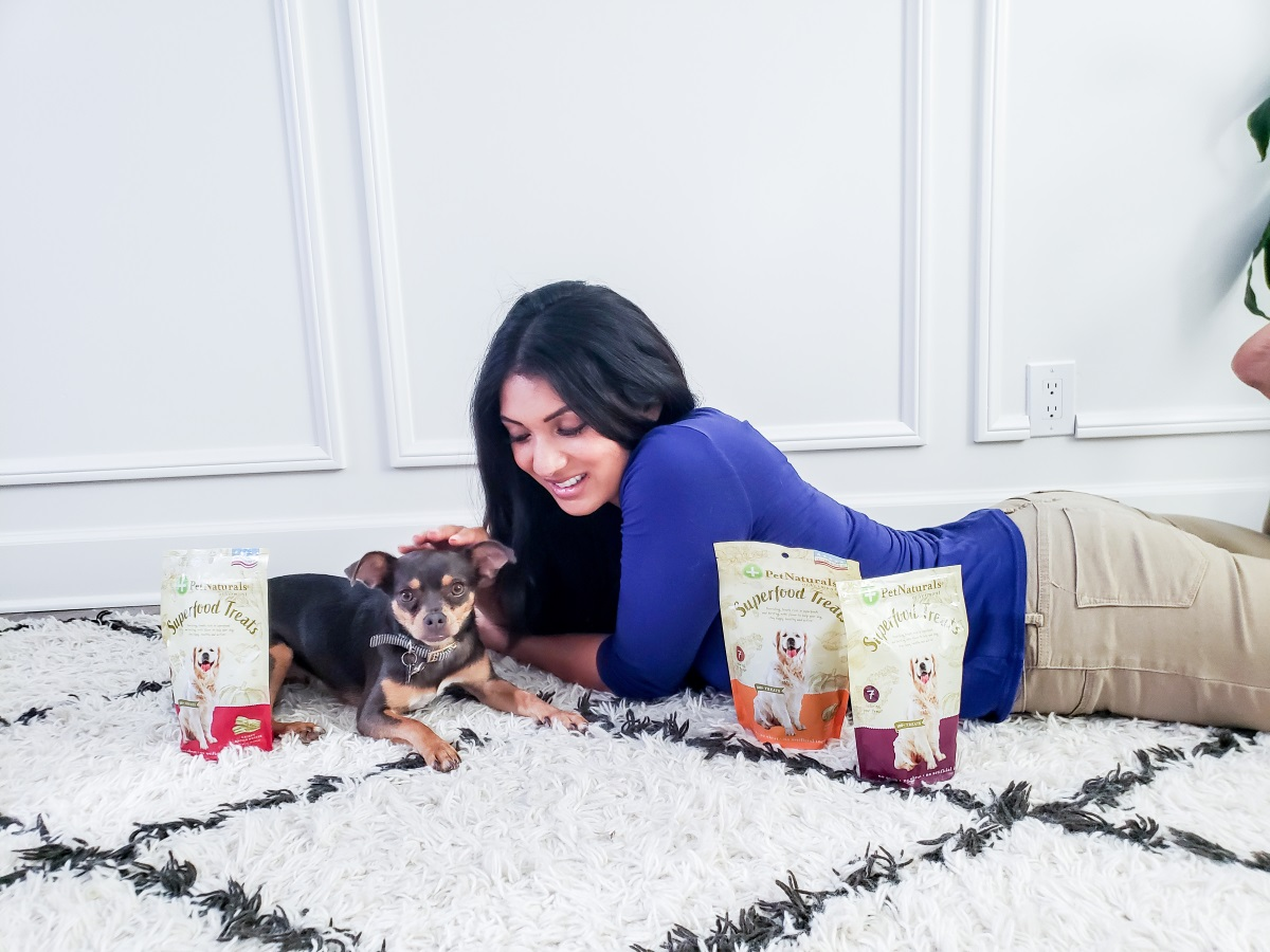 Treat Your Dog to Something Special | Pet Naturals of Vermont | Superfood Treats from Amazon | Debbie Savage of To Thine Own Style Be True | Orange County Lifestyle Blog