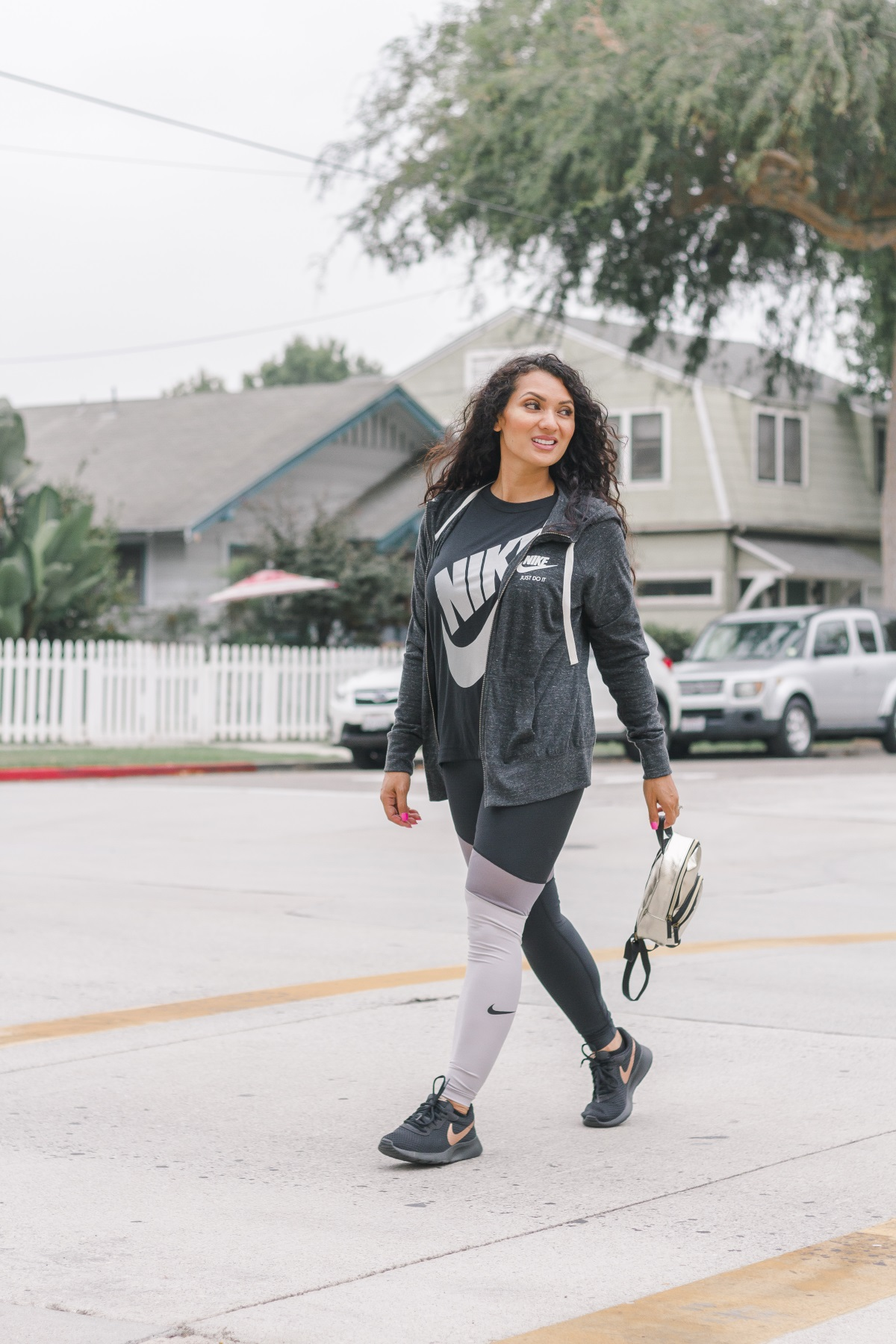 5 Fall Fitness Tips | JCPenney Fashion + Nike Athletic Wear | Debbie Savage Orange County Lifestyle Blogger of To Thine Own Style Be True