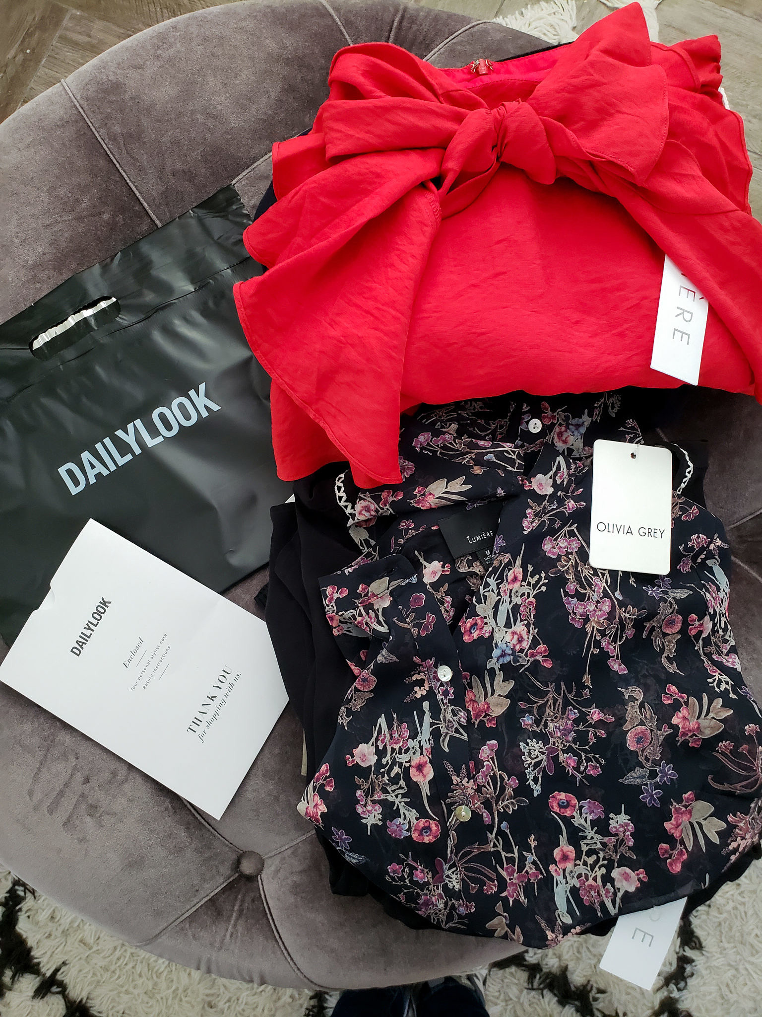 My First Clothing Subscription Box with DailyLook