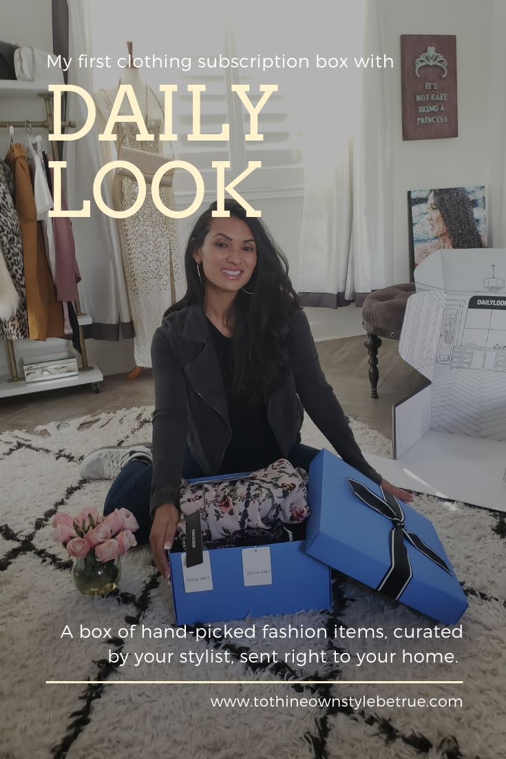 Have you tried the DailyLook Subscription Box? Orange County Style Blogger Debbie Savage is sharing inside her first DailyLook Subscription box here and why you need to try it ASAP!