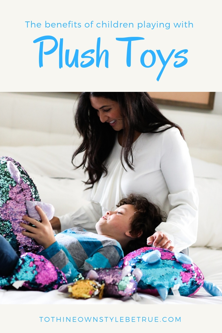 Curious why you should allow your kids to play with plush toys? Orange County Lifestyle Blogger Debbie Savage is sharing her thoughts and tips as to why plush toys are a must for younger kids.