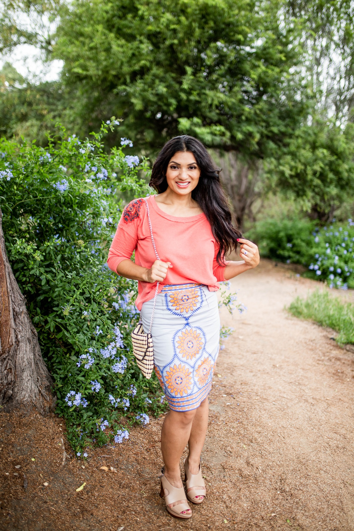 Curious what fall trends you need to try? Orange County Blogger Debbie Savage is sharing one of falls biggest trends - tribal print and why you need to try it ASAP!