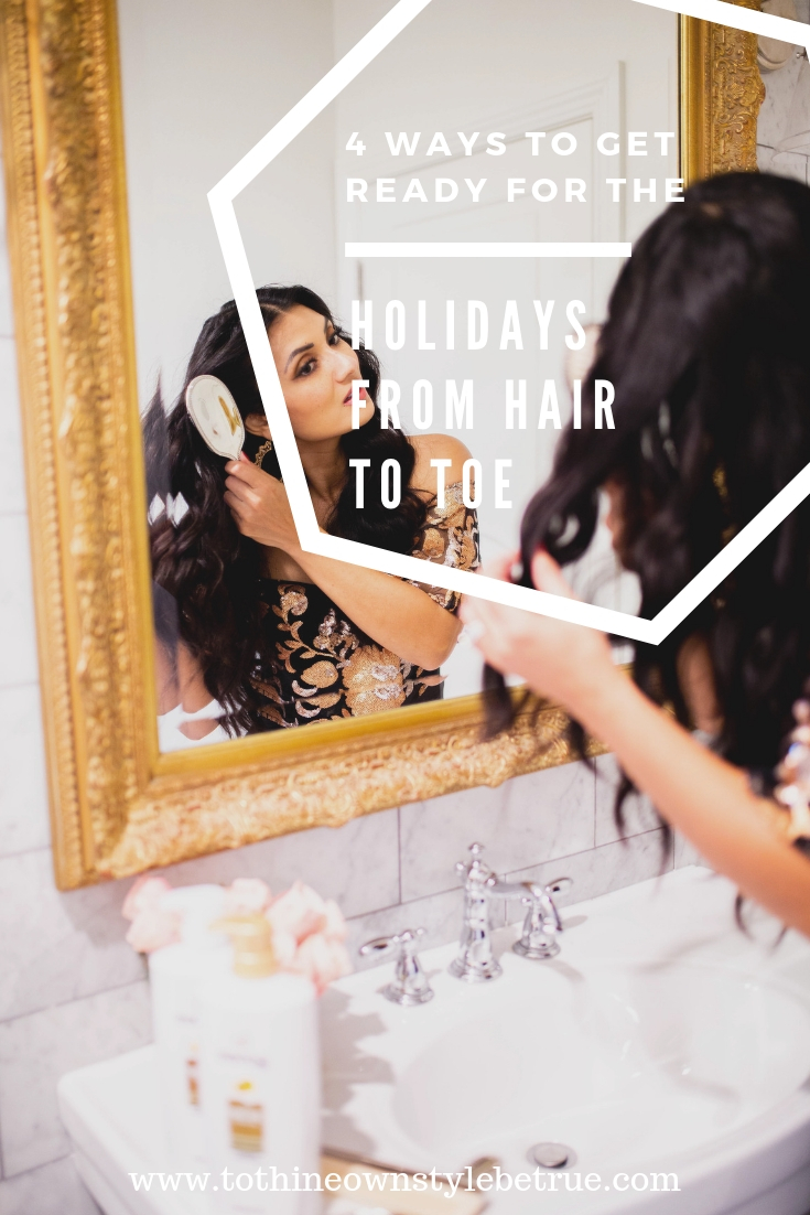 Bookmark this post ASAP if are stress over the holidays. Orange County Blogger Debbie Savage is sharing her top 4 tips on how to get ready for the holiday from head to toe with ease. Click to see how...