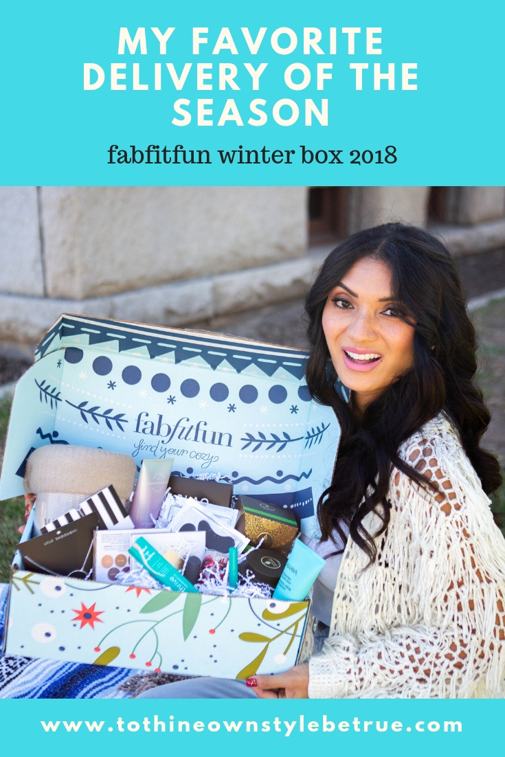 Curious what is in the FabFitFun Winter Box? Orange County Blogger Debbie Savage is sharing how FabFitFun Winter Box is her favorite delivery of the season!