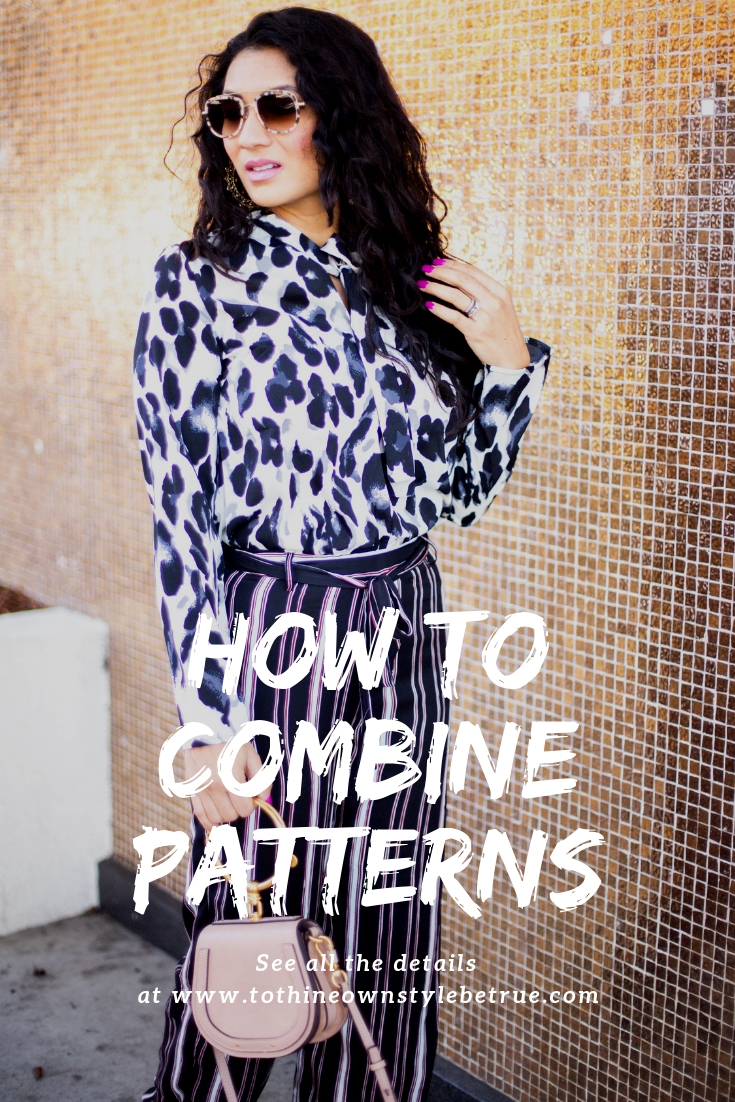 Curious how to combine patterns like a pro? Orange County Blogger Debbie Savage is sharing her top tips on how to combine patterns. Click to see how HERE!