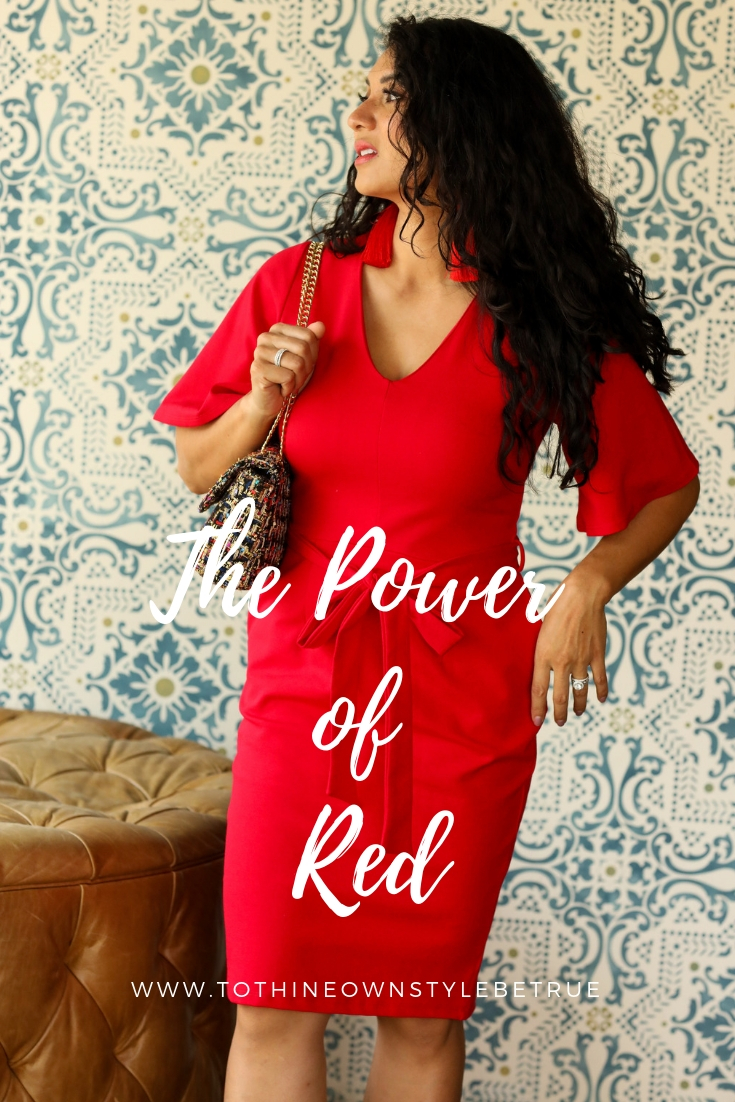 Curious why you should wear red? Orange County Blogger Debbie Savage is sharing her tips on why you should wear the powerful color of red. See why here!