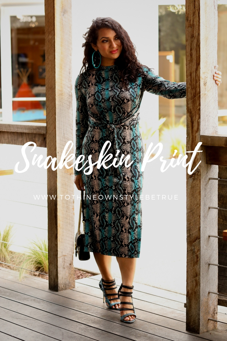 Curious why you should love snakeskin print? Orange County Blogger Debbie Savage is sharing her top 5 reasons why you should love snakeskin print this year. See them HERE!