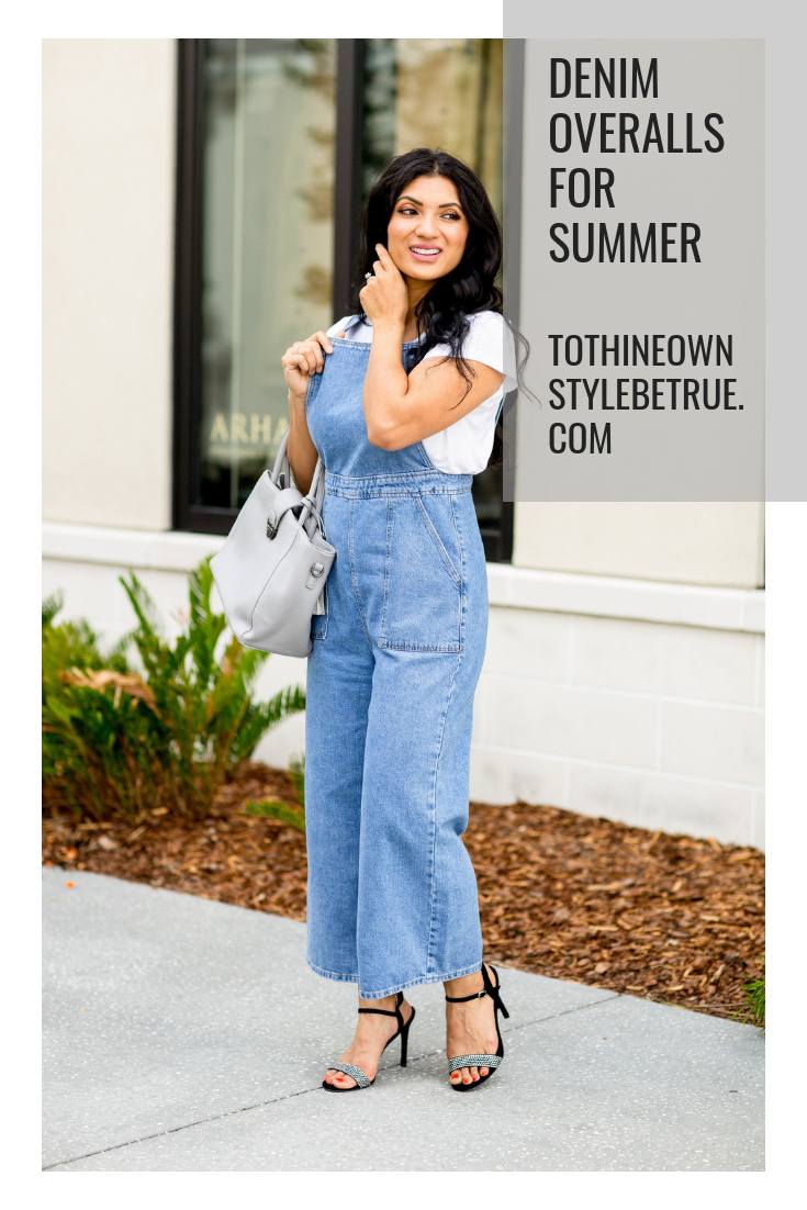 Overalls for summer? Trust me you NEED to try them. Orange County Blogger Debbie Savage is sharing why you need overalls for summer and how to style them here!