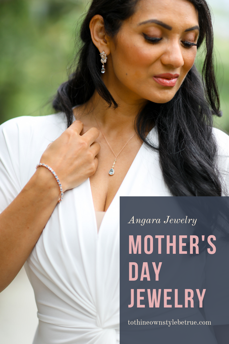 Looking for the perfect mother's day gift? Orange County Blogger Debbie Savage is sharing her favorite Mother's Day gift ideas with angara jewelry here!