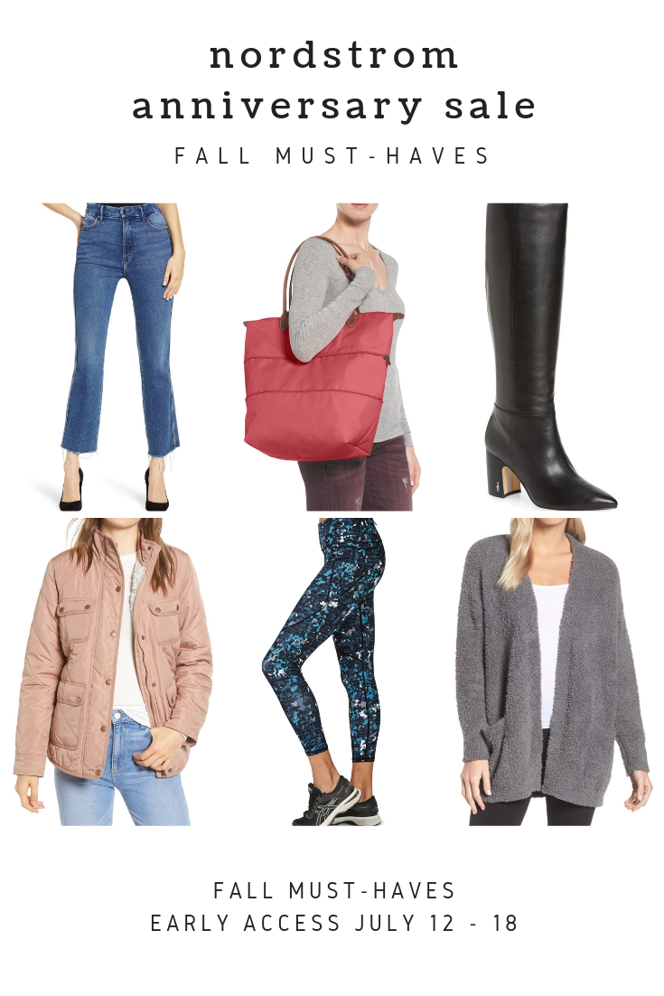 Looking for the best must haves for fall? Orange County Blogger Debbie Savage has you covered with her top fall must have Nordstrom picks. See them here!