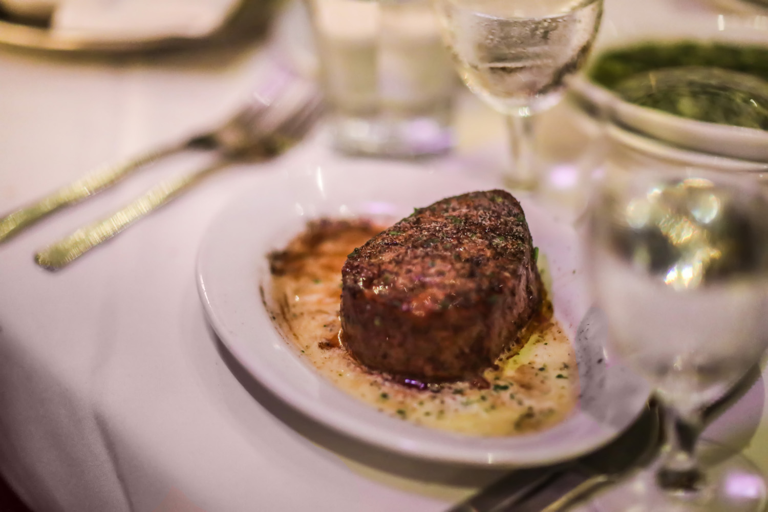 Fine Dining Without An Attitude Ruth's Chris Steak House at Anaheim Restaurant