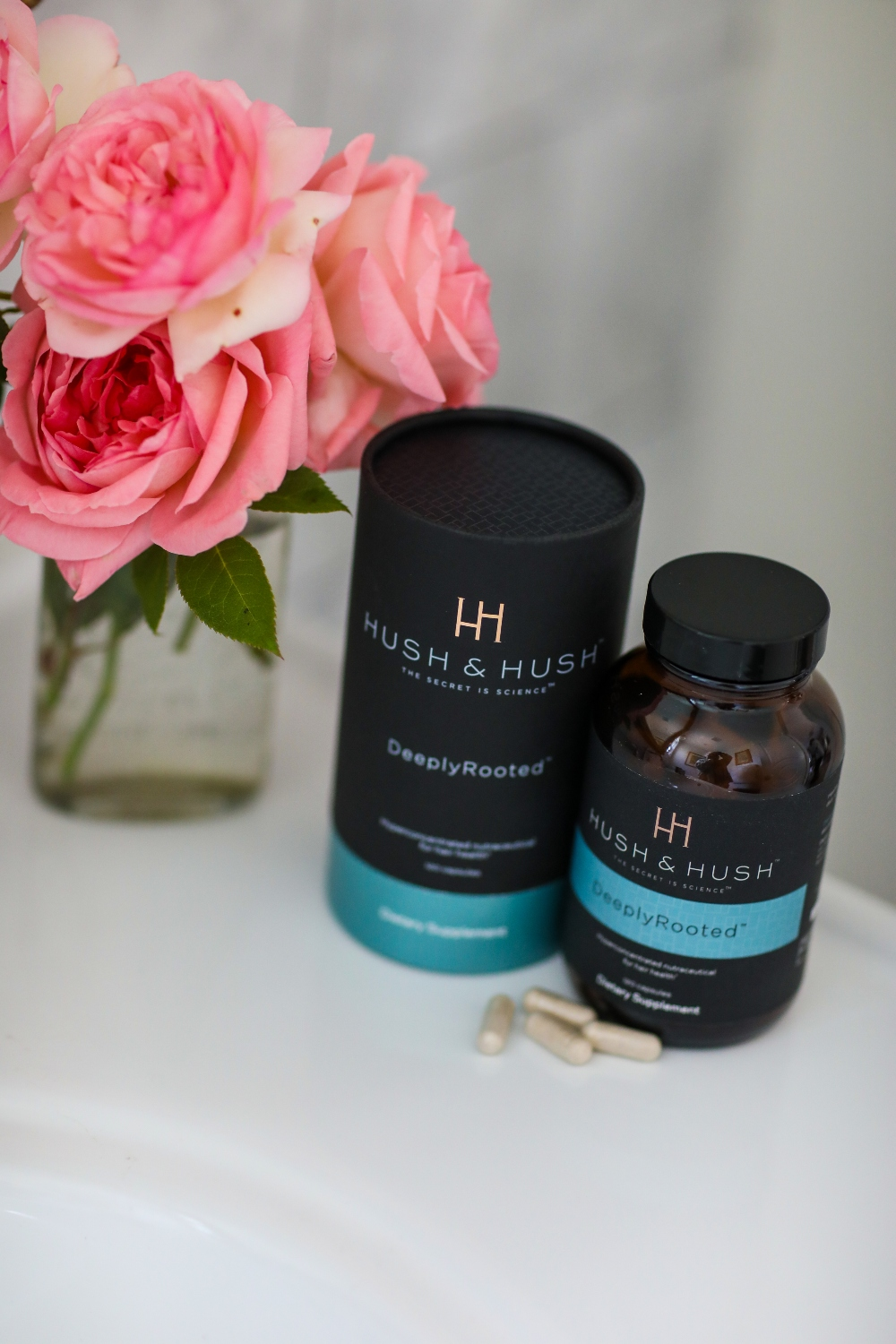 Want to know the secret to healthy hair? Orange County Blogger Debbie Savage is sharing her lastest secret to healthy hair - Hush Hush Supplements. See why you need them HERE!