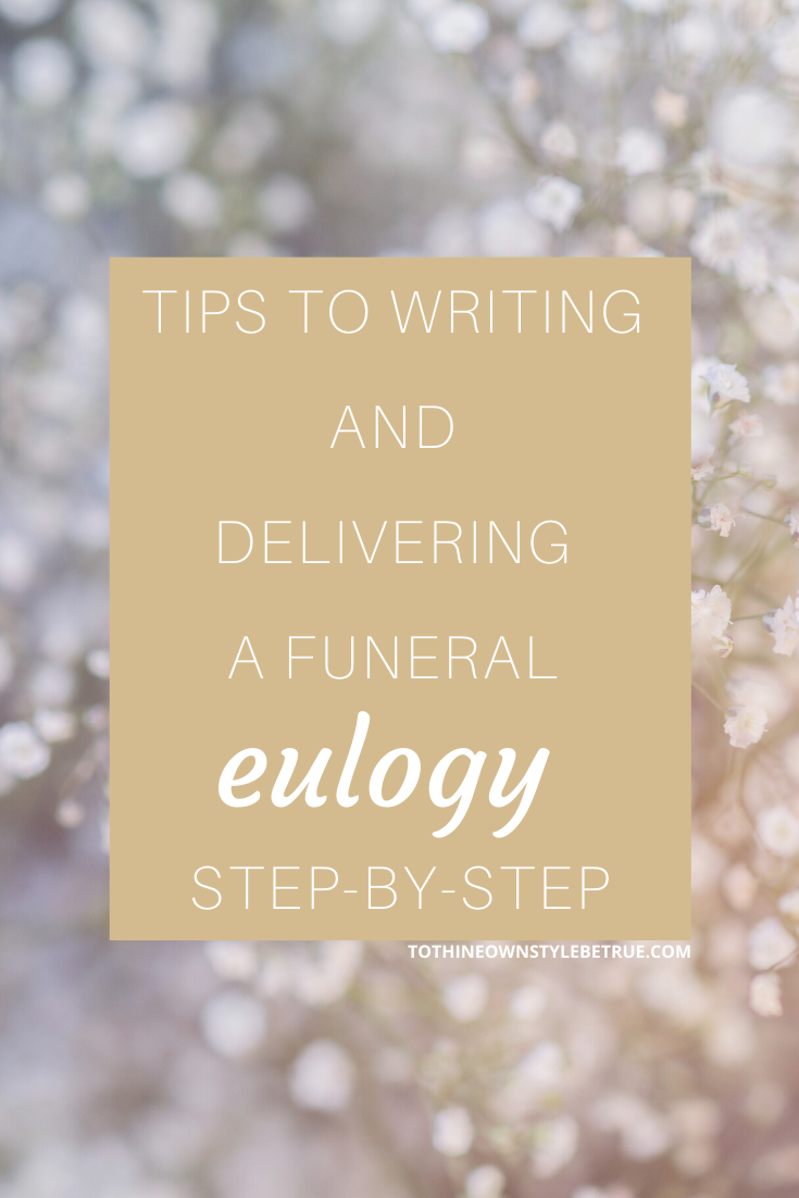 A Eulogy for My Brother | Tips to Writing and Delivering a Funeral Eulogies Step-by-Step