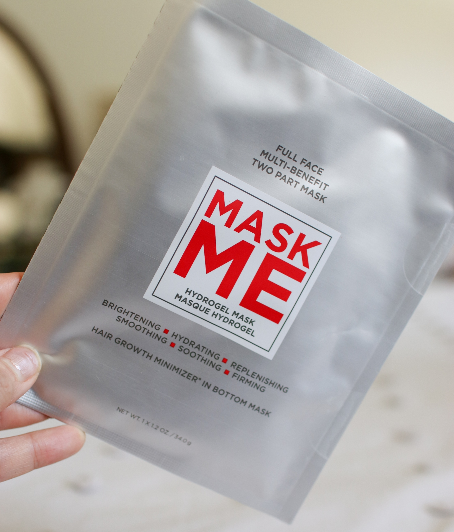 European Wax Center Mask Me Hydrogel Mask