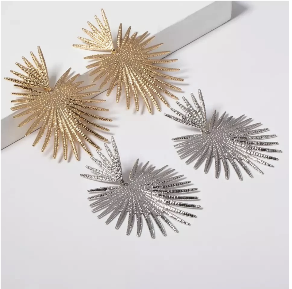 Sunburst Statement Earrings | Boho Celestial Sun Jewelry | The Songbird Collection