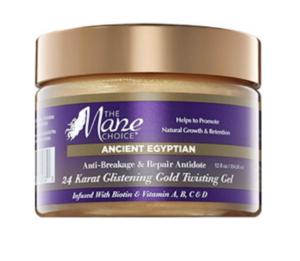 10 Black Beauty Brands to Support: The Mane Choice - 24 Karat Glistening Gold Twisting Gel