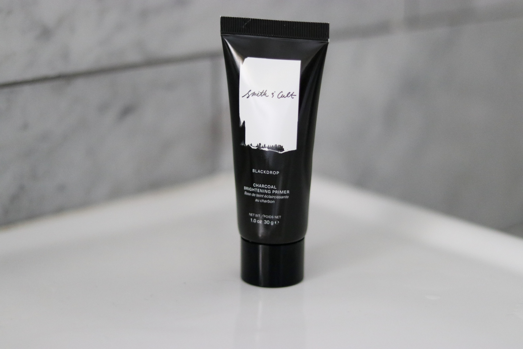 Smith & Cult's Blackdrop Charcoal Brightening Primer