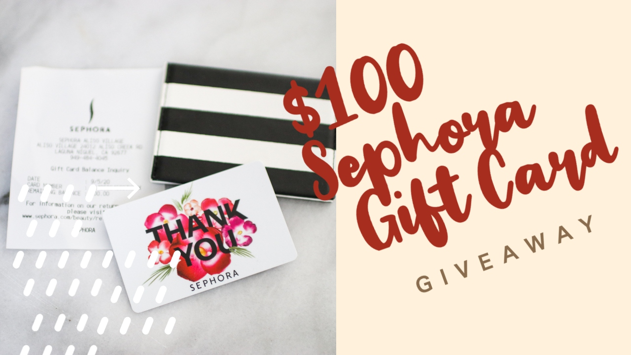 Debbie Savage Rare Beauty by Selena Gomez $100 Sephora Gift Card Giveaway