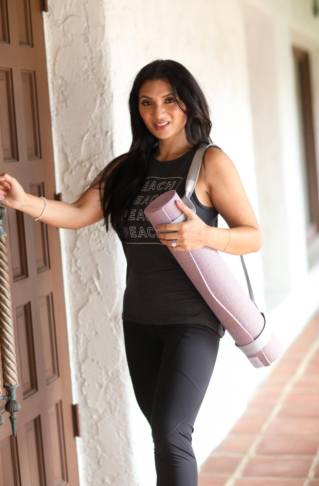 Anja Eco Jute Yoga Mat