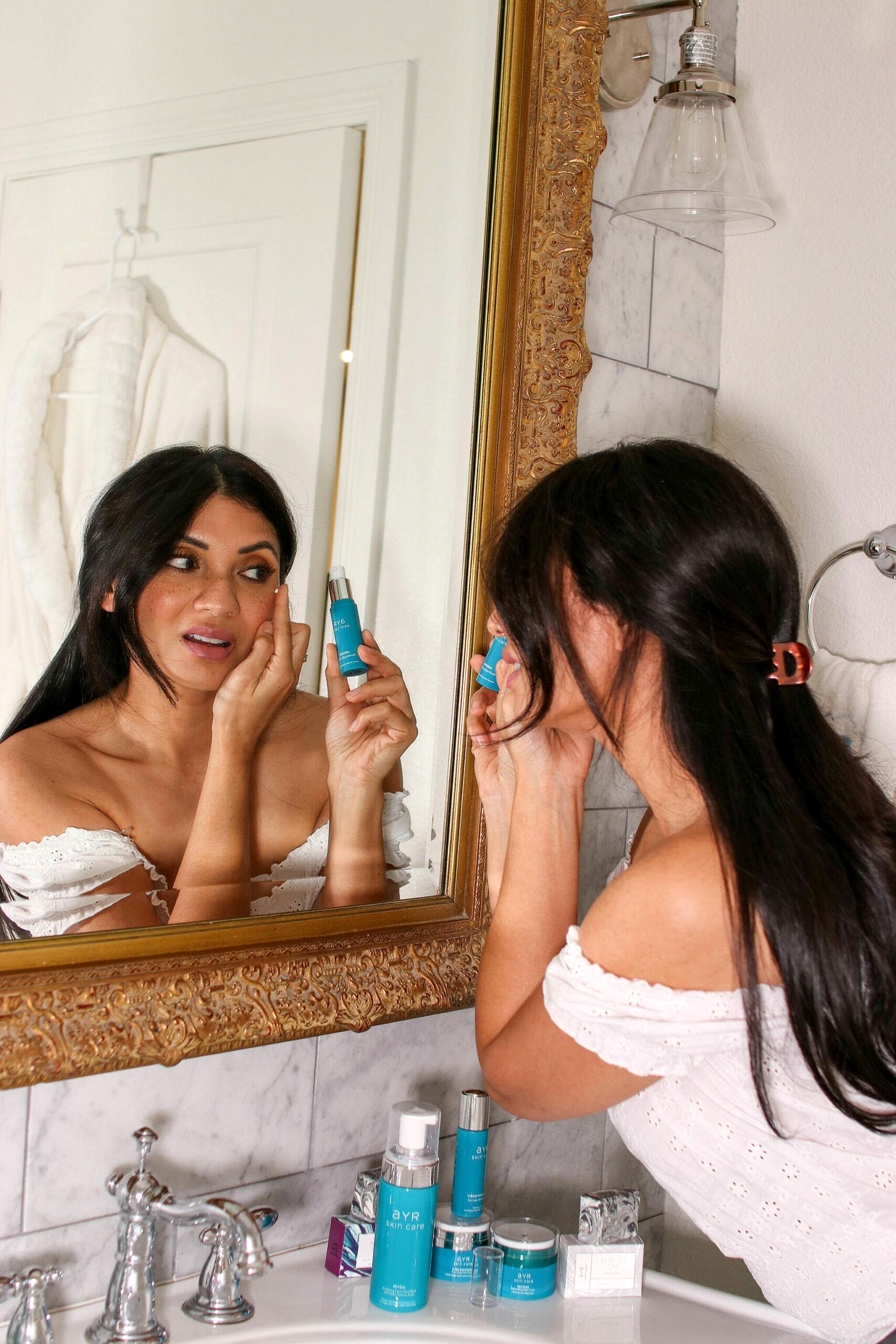 AYR Skincare Products | Organic and Carefully Sourced Natural Ingredients | Awaken Revitalizing Eye Serum