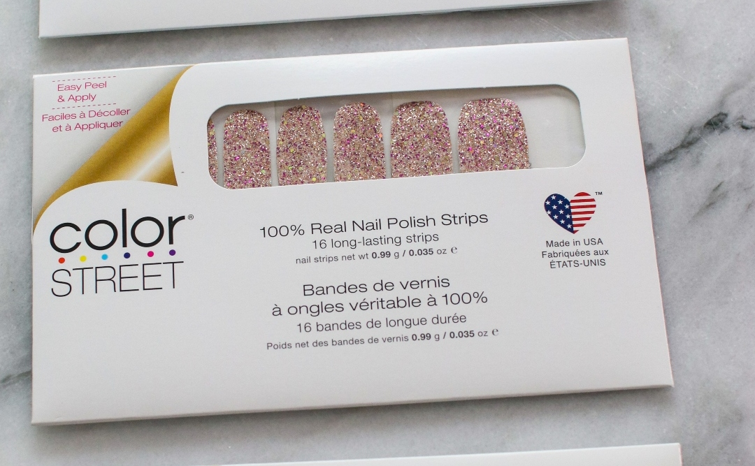 ColorStreet 100% Real Nail Polish Strips Easy Application